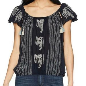 NWOT! New Free People Peasant Top, Size XS